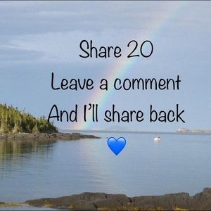 Share 20 and I'll share 20 back
